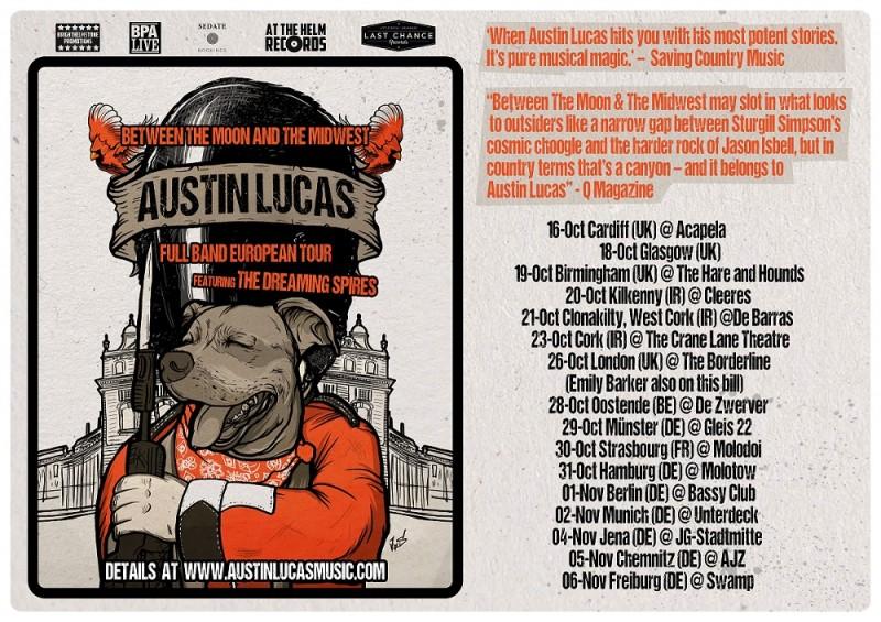 Austin Lucas European Tour 2016