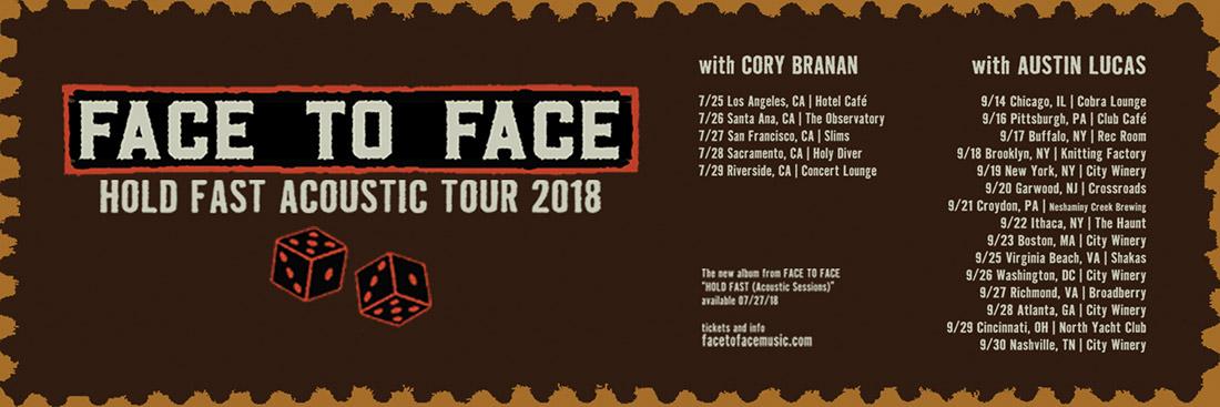 Face To Face Acoustic-Tour